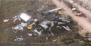 Overzicht crash site