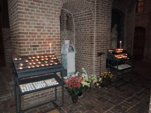Monument in Basilica Saint John (Laren - The Netherlands) for Martinair crash in Faro