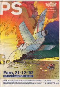 Illustratie door Fred Julsing: striptekenaar en passagier van de Anthony Ruys